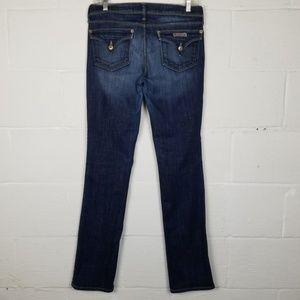 Hudson Classic Straight Leg Jeans, Size 28